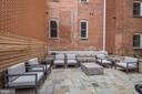 1745N also offers courtyard w/fire pit - 1745 N ST NW #406, WASHINGTON