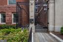 Secure, gated and historic entry way - 1745 N ST NW #406, WASHINGTON
