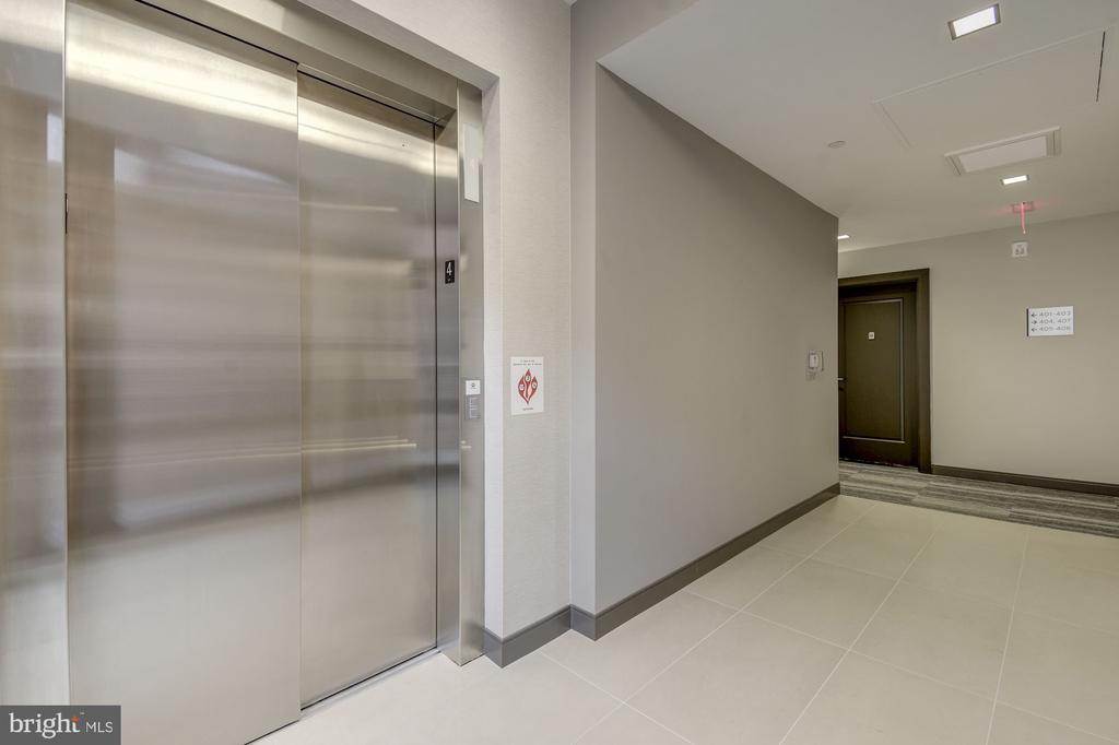 4th floor elevator landing - 1745 N ST NW #406, WASHINGTON