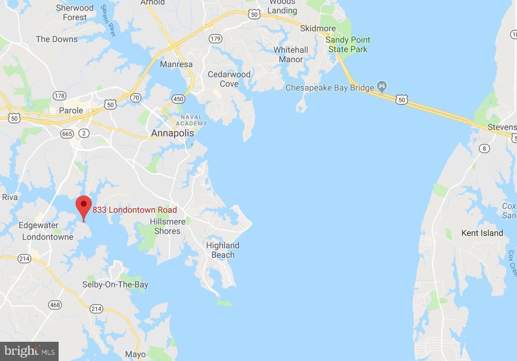 On South River w/Bridge Free Access to Chesapeake! - 833 LONDONTOWN RD, EDGEWATER