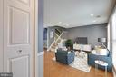 Welcoming Living Room - 8021 EDINBURGH DR, SPRINGFIELD