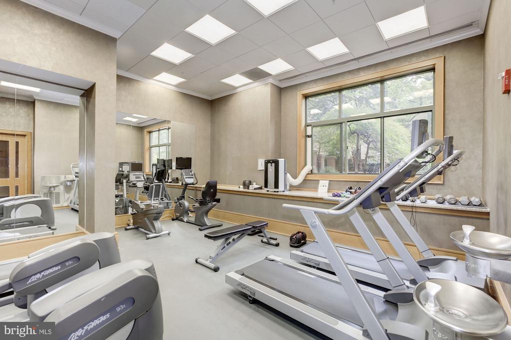 Exercise room - 3625 10TH ST N #602, ARLINGTON