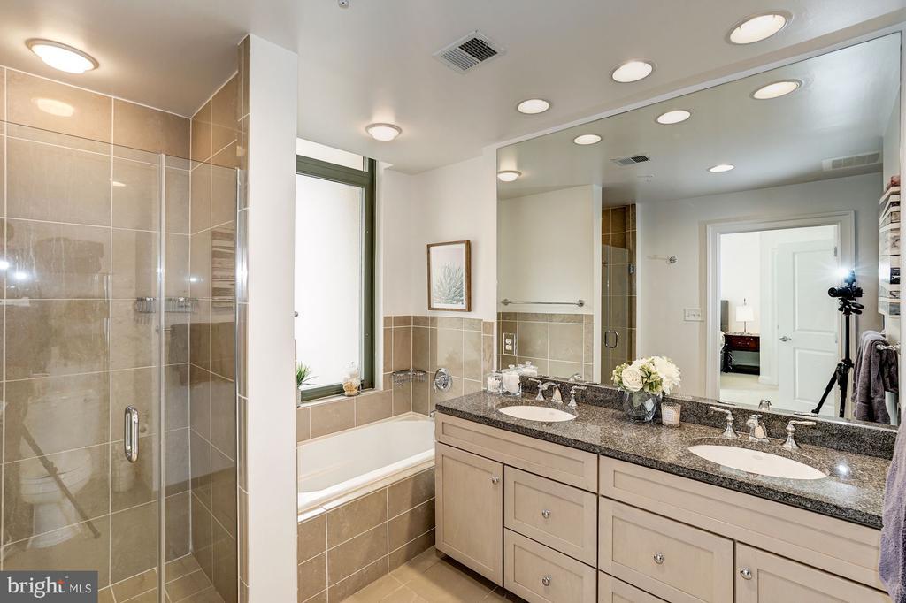Master bath separate shower - 3625 10TH ST N #602, ARLINGTON