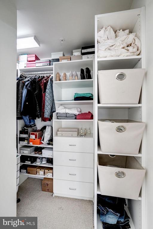 Master bedroom walk-in closet - 3625 10TH ST N #602, ARLINGTON