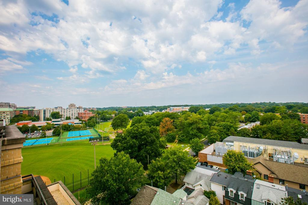 View from rooftop terrace - 3625 10TH ST N #602, ARLINGTON