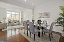 Living/ Dining Room - 10882 SYMPHONY PARK DR, NORTH BETHESDA