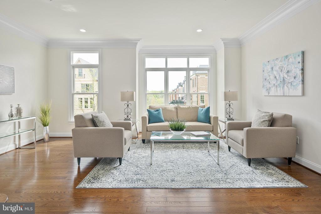 Formal Living Room - 10882 SYMPHONY PARK DR, NORTH BETHESDA