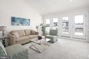 Penthouse Level Sitting Room w/Rooftop Patio - 10882 SYMPHONY PARK DR, NORTH BETHESDA