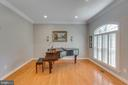 Living Room - 8506 FOREST ST, ANNANDALE