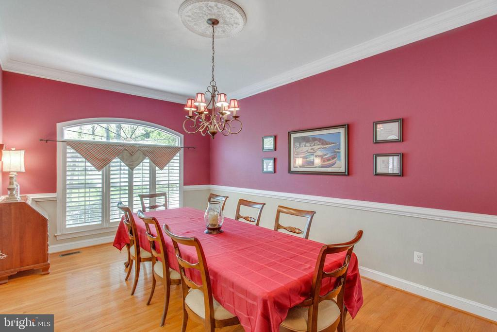 Dining Room - 8506 FOREST ST, ANNANDALE