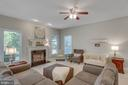 Family Room - 8506 FOREST ST, ANNANDALE