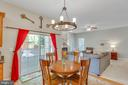 Breakfast Area - 8506 FOREST ST, ANNANDALE
