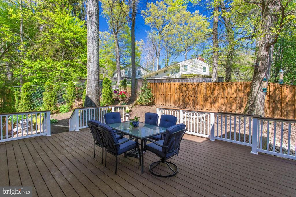 Deck - 8506 FOREST ST, ANNANDALE