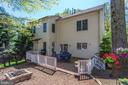 Rear View - 8506 FOREST ST, ANNANDALE