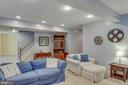 Lower Level - Living Room - 8506 FOREST ST, ANNANDALE