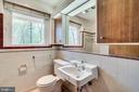 Original bath - 8522 & 8520 FOREST ST, ANNANDALE