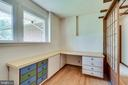 Laundry room with plenty of work space - 8522 & 8520 FOREST ST, ANNANDALE