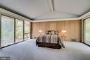 Gorgeous master bedroom - 8522 & 8520 FOREST ST, ANNANDALE