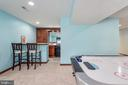 Great entertaining Space with Wet Bar & mini-fridg - 27 HALIFAX CT, STAFFORD