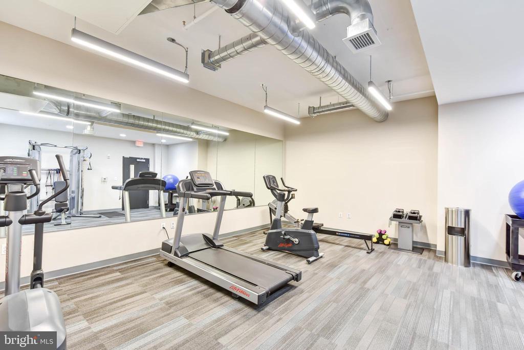 Building gym - 911 2ND ST NE #503, WASHINGTON
