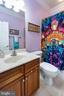 Private bath for bedroom #2 - 43604 HABITAT CIR, LEESBURG
