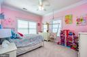 Bedroom #4--all bedrooms feature crown molding - 43604 HABITAT CIR, LEESBURG
