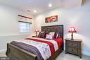 Lower Level Bedroom - 43604 HABITAT CIR, LEESBURG