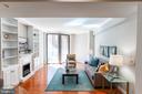 Bright, Gleaming Main Level Living Area. - 616 E ST NW #656, WASHINGTON