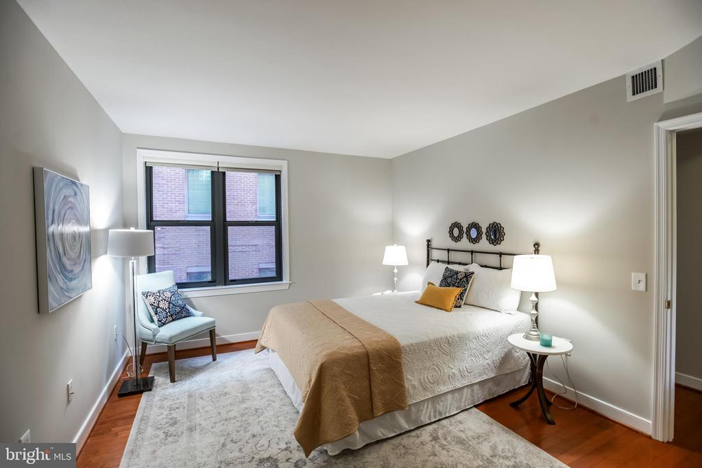 2nd Bedroom with Large, Walk-in Closet. - 616 E ST NW #656, WASHINGTON