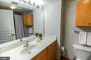 2 Full, Spacious Baths on 2nd Level. - 616 E ST NW #656, WASHINGTON