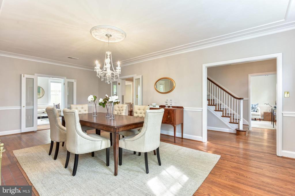 Large formal dining room - 2500 24TH ST N, ARLINGTON