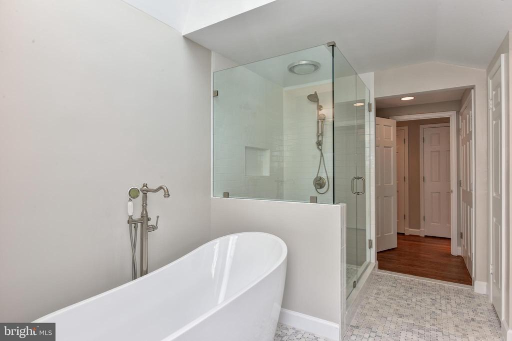 Free standing soaking tub  and large shower - 2500 24TH ST N, ARLINGTON