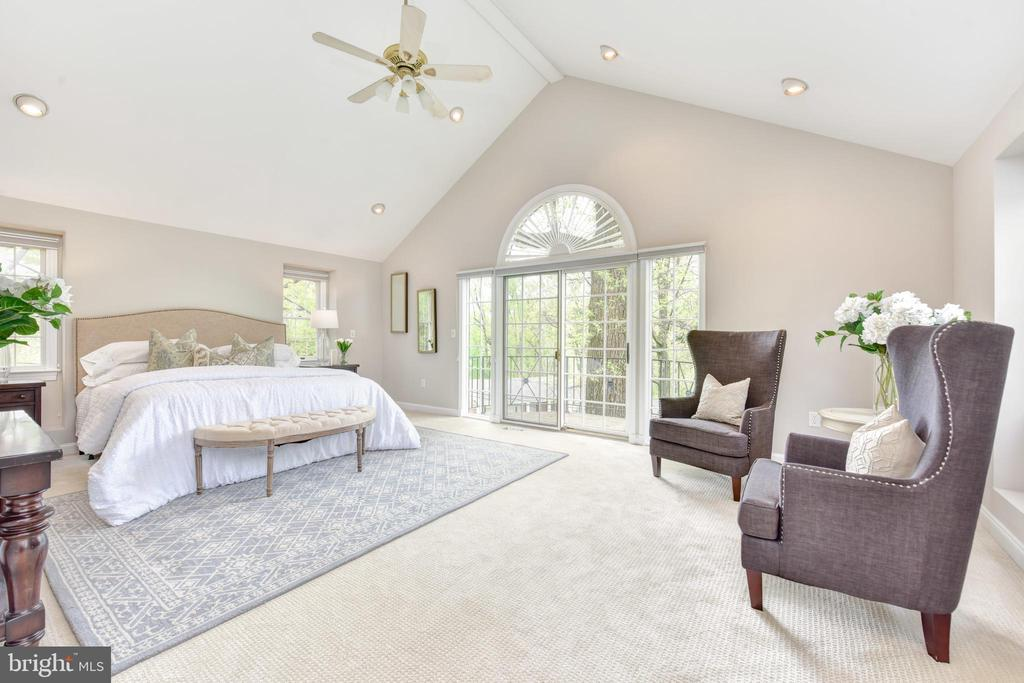 Amazing master suite with vaulted ceiling - 2500 24TH ST N, ARLINGTON