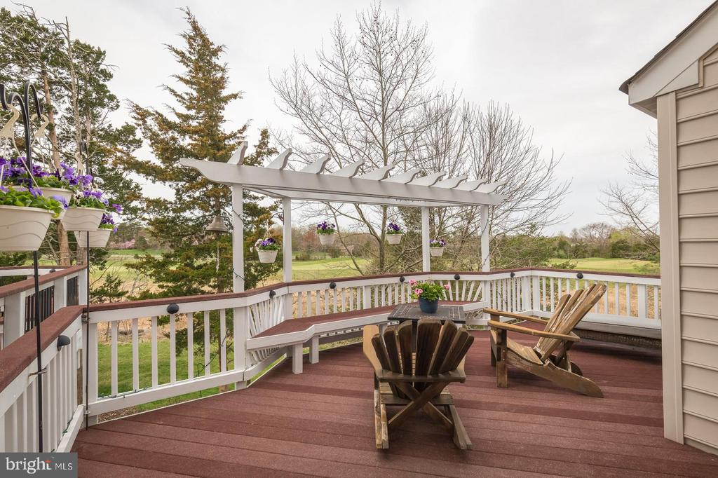 SPACIOUS, PRIVATE DECK BACKS TO 4TH HOLE - 25657 TREMAINE TER, CHANTILLY