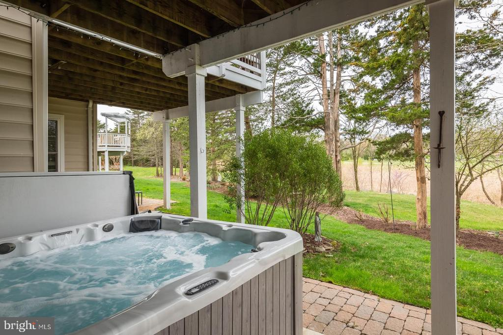 PRIVATE THERAPY HOT TUB - 25657 TREMAINE TER, CHANTILLY