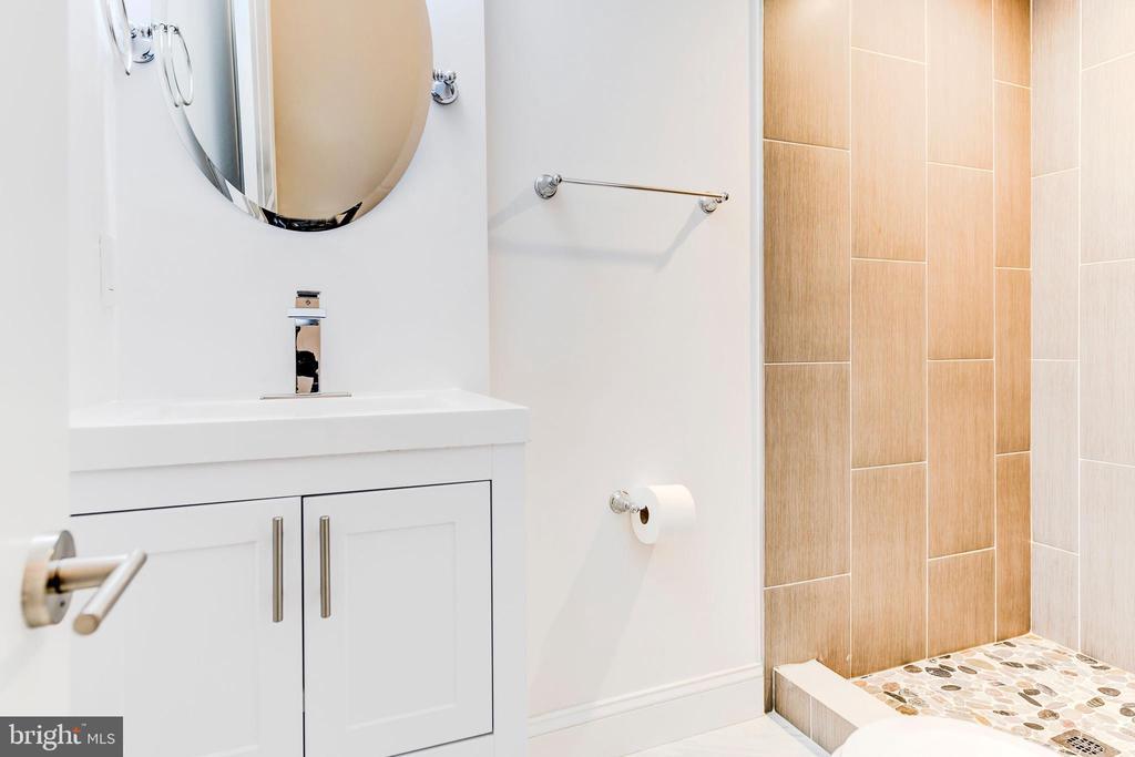 basement full bath - 4419 19TH PL NE, WASHINGTON