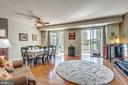 living room/ dining room combo - 19355 CYPRESS RIDGE TER #120, LEESBURG