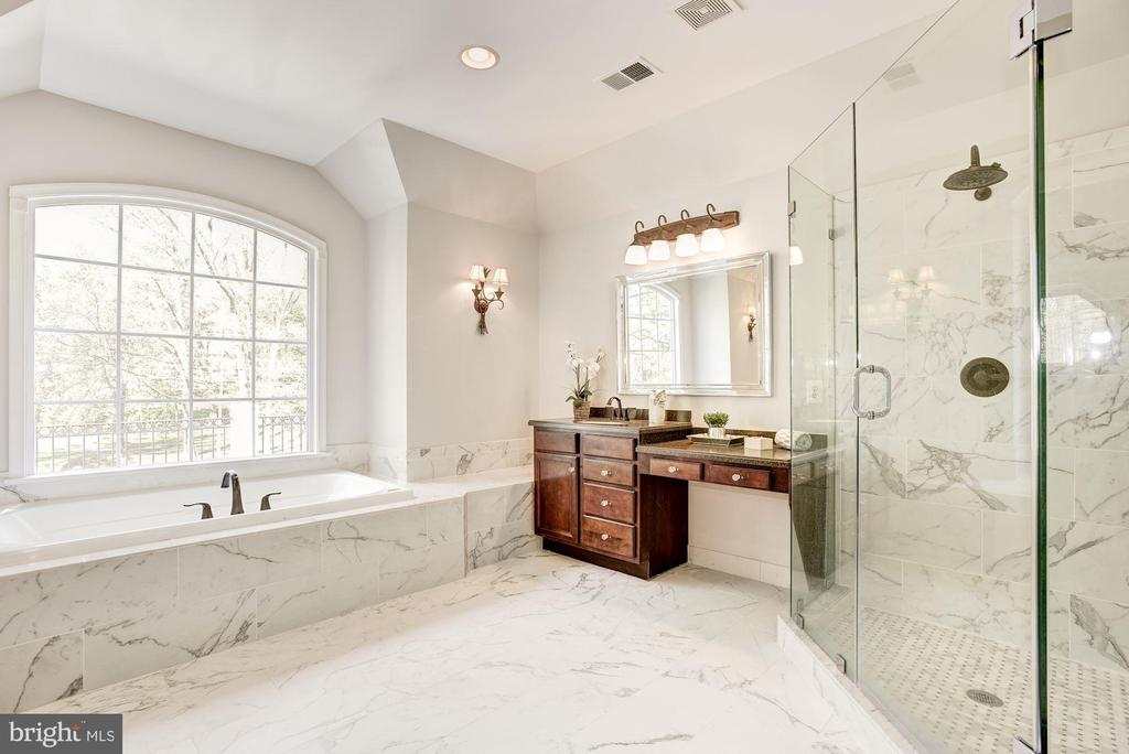 Light and Airy Master Bath - 1211 RESTON AVE, HERNDON