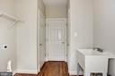 Mud room with casual coat closet and pantry closet - 1211 RESTON AVE, HERNDON