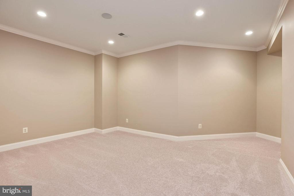 Lower level Exercise or Media Room - 1211 RESTON AVE, HERNDON