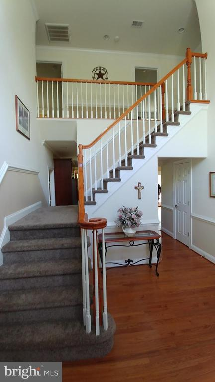Dual staircase - 53 SENTRY CT, STAFFORD