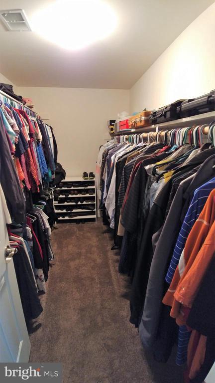 Huge walk in closet plus 2 more for him - 53 SENTRY CT, STAFFORD