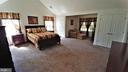 Very spacious Master Bedroom - 53 SENTRY CT, STAFFORD