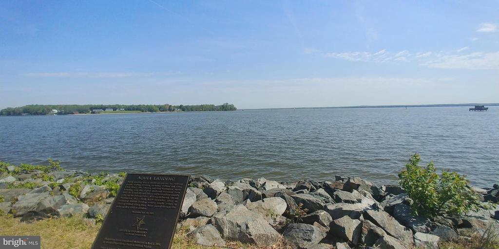 Lovely view of the Potomac River - 53 SENTRY CT, STAFFORD