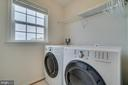 Bedroom Level Laundry Room - 42442 GREAT HERON SQ, BRAMBLETON