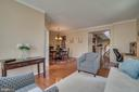 Living Room - 42442 GREAT HERON SQ, BRAMBLETON