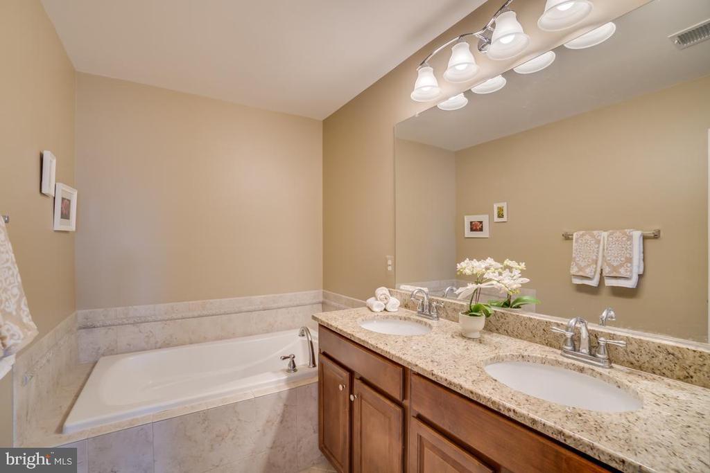 Master Bath - 42442 GREAT HERON SQ, BRAMBLETON