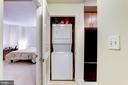 Washer/Dryer in Unit next to Kitchen Area - 715 6TH ST NW #205, WASHINGTON