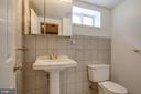 Full bath in basement - 3611 22ND ST N, ARLINGTON