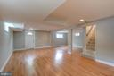 Basement with walk out entrance - 3611 22ND ST N, ARLINGTON